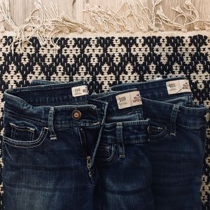3 Pairs of Hollister Jeans